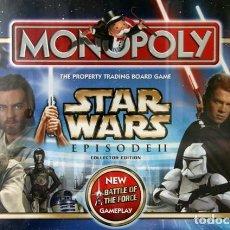 Juegos de mesa: MONOPOLY STAR WARS EPISODIO II UK PRECINTADO DE ORIGEN. Lote 172579083