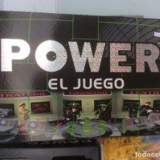 Juegos de mesa: POWER EL JUEGO. JUEGOS SPEAR. 1996. ROL. ESTRATEGIA. COMPLETO.. Lote 172608890