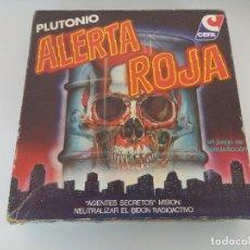 Juegos de mesa: JUEGO DE MESA CEFA/ALERTA ROJA/COMPLETO.. Lote 172642253