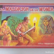 Juegos de mesa: JUEGO DE MESA FALOMIR/LA MALDICION DE LA MOMIA/EL ENIGMA DE LA PIRAMIDE.. Lote 172643074