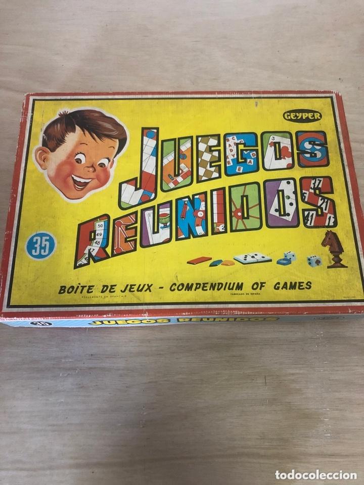 JUEGOS REUNIDOS GEYPER (Juguetes - Juegos - Juegos de Mesa)