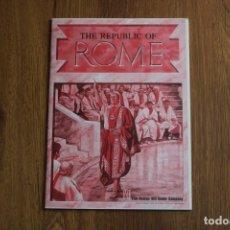 Juegos de mesa: INSTRUCCIONES REGLAS REGLAMENTO JUEGO MESA TABLERO REPUBLIC ROME AVALON HILL POLÍTICA SENADO INGLÉS. Lote 172893753
