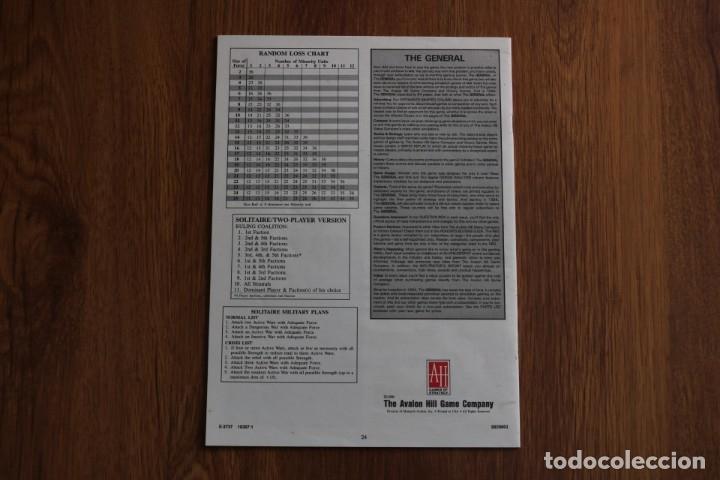 Juegos de mesa: Instrucciones reglas reglamento juego mesa tablero Republic Rome Avalon Hill política senado inglés - Foto 2 - 172893753