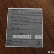 Juegos de mesa: TARJETA FACCIÓN 3 JUEGO MESA TABLERO REPUBLIC ROME AVALON HILL POLÍTICA SENADO INGLÉS. Lote 172893952