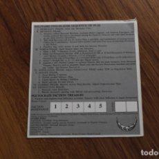 Juegos de mesa: TARJETA FACCIÓN 6 JUEGO MESA TABLERO REPUBLIC ROME AVALON HILL POLÍTICA SENADO INGLÉS. Lote 172893998