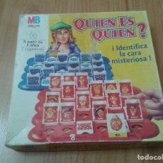 Juegos de mesa: JUEGO DE MESA -- EDUCATIVO -- ¿ QUIEN ES QUIEN ? MB -- 1996 -- INCOMPLETO. Lote 172901640