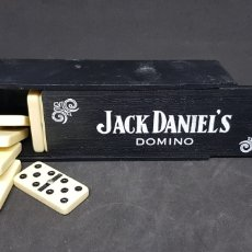 Juegos de mesa: DOMINO - JACK DANIELS - CAR154. Lote 172915322