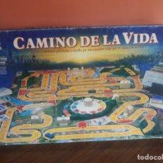 Juegos de mesa: CAMINO DE LA VIDA JUEGO DE MB INCOMPLETO. Lote 173019645