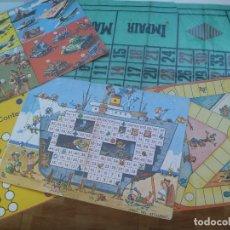 Juegos de mesa: LOTE DE TABLEROS Y TAPETE DE LA RULETA DE JUEGOS REUNIDOS GEYPER , AÑOS 60. Lote 173160829