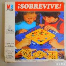 Juegos de mesa: JUEGO DE MESA ORIGINAL ¡SOBREVIVE! 1981 MB JUEGOS. Lote 173277959