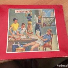 Juegos de mesa: IMPRESORES, ANTIGUO JUEGO (J-2). Lote 173346998