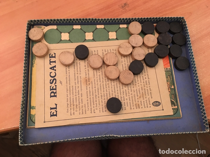 Juegos de mesa: EL RESCATE ANTIGUO JUEGO DE MESA COMPLETO (J-2) - Foto 4 - 173358955