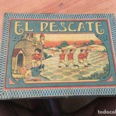 Juegos de mesa: EL RESCATE ANTIGUO JUEGO DE MESA COMPLETO (J-2). Lote 173358955