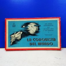 Juegos de mesa: ANTIGUO JUEGO DE MESA LA CONQUISTA DEL MUNDO JUEGOS CRONE COMPLETO. Lote 173407577