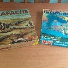 Juegos de mesa: FORT APACHE + FRENTE DEL PACÍFICO. Lote 173446324