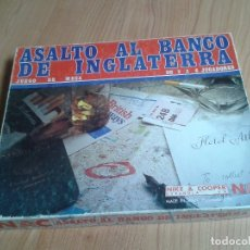 Juegos de mesa: ASALTO AL BANCO DE INGLATERRA -- NIKE & COOPER -- MADE IN SPAIN -- 1982. Lote 173451070