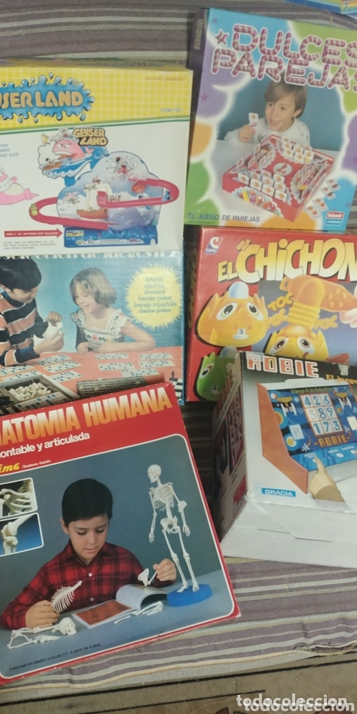 LOTE DE 6 JUEGOS AÑOS 80/90 A ESTRENAR (Juguetes - Juegos - Juegos de Mesa)