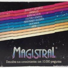 Juegos de mesa: JUGUETES RECREATIVOS JUEGO DE MESA MAGISTRAL.. Lote 173577432