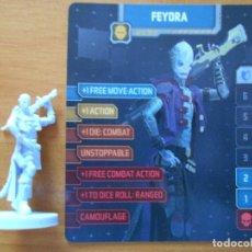 Juegos de mesa: ZOMBICIDE INVADER - FEYDRA - KICKSTARTER EXCLUSIVE - FIGURA + TARJETA - NUEVO (S1). Lote 294995793