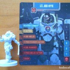 Juegos de mesa: ZOMBICIDE INVADER - LT. JEE-HYE - KICKSTARTER EXCLUSIVE - FIGURA + TARJETA - NUEVO (S1). Lote 294998248