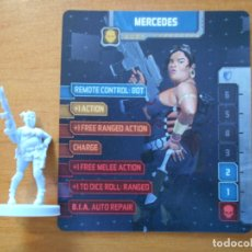 Juegos de mesa: ZOMBICIDE INVADER - MERCEDES - KICKSTARTER EXCLUSIVE - FIGURA + TARJETA - NUEVO (S1). Lote 294997968