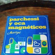 Juegos de mesa: JUEGO MAGNÉTICO PARCHÍS Y OCA MARIGO. Lote 173822327