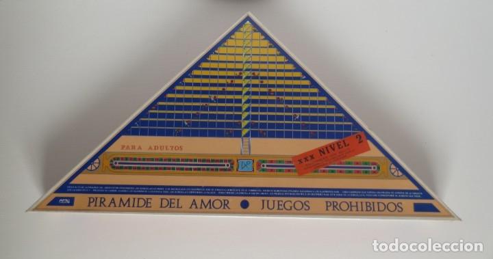 PIRÁMIDE DEL AMOR. NIVEL 2. JUEGO ERÓTICO PARA ADULTOS - NUEVO PRECINTADO- (Juguetes - Juegos - Juegos de Mesa)