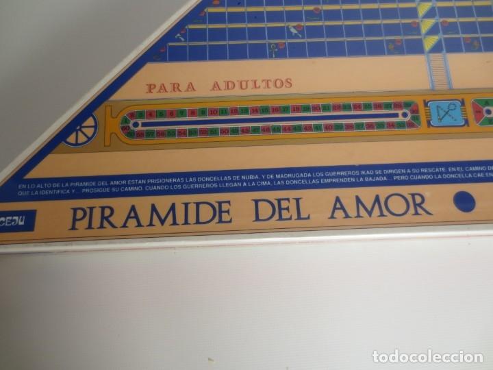 Juegos de mesa: PIRÁMIDE DEL AMOR. NIVEL 2. JUEGO ERÓTICO PARA ADULTOS - NUEVO PRECINTADO- - Foto 2 - 173867117