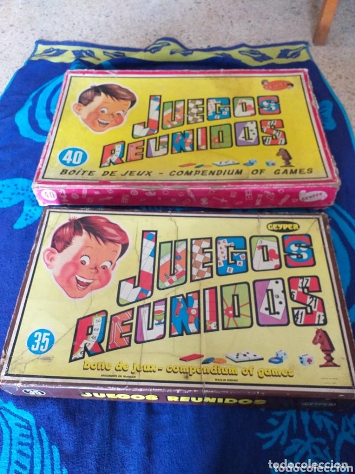 JUEGOS REUNIDOS 35 Y 40 (Juguetes - Juegos - Juegos de Mesa)