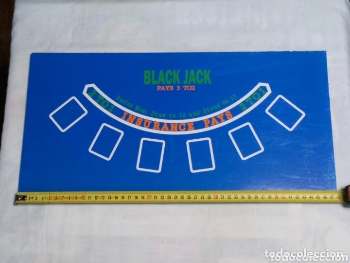 Juegos de mesa: Tablero de Craps y Black Jack - Foto 2 - 173994780