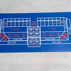 Juegos de mesa: TABLERO DE CRAPS Y BLACK JACK. Lote 173994780