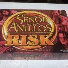 Juegos de mesa: RISK EL SEÑOR DE LOS ANILLOS COMPLETO SOLO JUGADO UNA VEZ. Lote 174024462