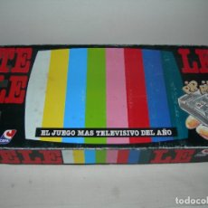 Juegos de mesa: CURIOSO JUEGO DE MESA TELELE ORIGINAL DE CEFA - TOTALMENTE COMPLETO Y SIN USO -. Lote 174048730
