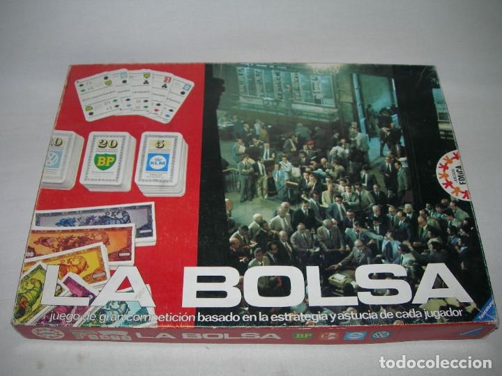 ANTIGUO JUEGO DE MESA EDUCATIVO LA BOLSA DE EDUCA - AÑOS 70 - (Juguetes - Juegos - Juegos de Mesa)