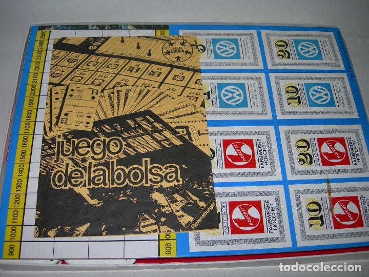 Juegos de mesa: ANTIGUO JUEGO DE MESA EDUCATIVO LA BOLSA DE EDUCA - AÑOS 70 - - Foto 3 - 174109480
