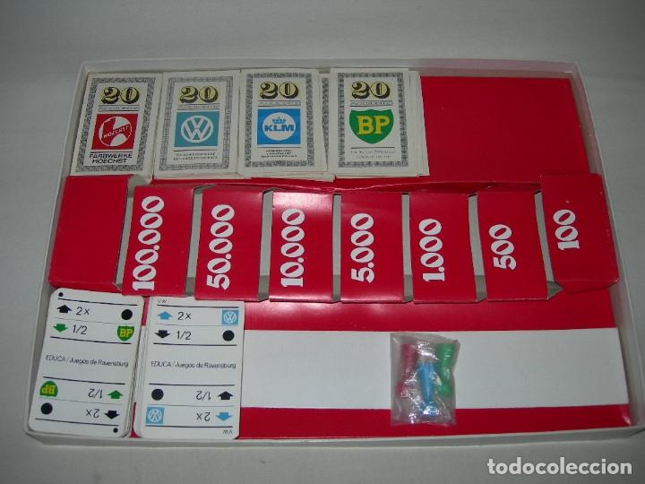 Juegos de mesa: ANTIGUO JUEGO DE MESA EDUCATIVO LA BOLSA DE EDUCA - AÑOS 70 - - Foto 5 - 174109480