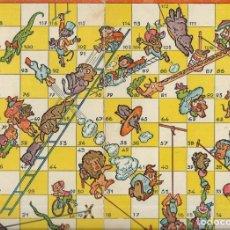 Juegos de mesa: == RR141 - ANTIGUA CARTULINA DE JUEGOS REUNIDOS. Lote 174184515