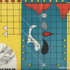Juegos de mesa: *** K244 - ANTIGUA CARTULINA DE JUEGOS REUNIDOS - TRANS AEREO. Lote 174184657