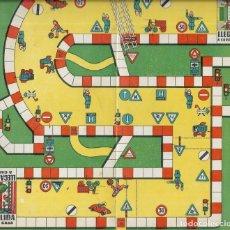 Juegos de mesa: == RR161 - ANTIGUA CARTULINA DE JUEGOS REUNIDOS. Lote 174184769