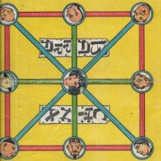 Juegos de mesa: == RR159 - ANTIGUA CARTULINA DE JUEGOS REUNIDOS. Lote 174185122
