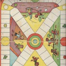Juegos de mesa: == RR158 - ANTIGUA CARTULINA DE JUEGOS REUNIDOS - KE - TE - KO - JO. Lote 174185765
