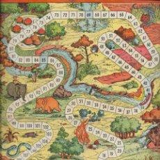 Juegos de mesa: == RR34 - ANTIGUA CARTULINA DE JUEGOS REUNIDOS. Lote 174185820