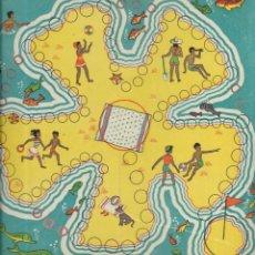Juegos de mesa: == RR51 - ANTIGUA CARTULINA DE JUEGOS REUNIDOS. Lote 174185914