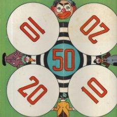 Juegos de mesa: *** K236 - ANTIGUA CARTULINA DE JUEGOS REUNIDOS. Lote 174188958