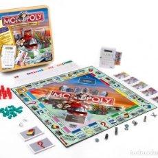 Juegos de mesa: MONOPOLY VISA EN CAJA DE METAL VERSIÓN UK. Lote 174419029