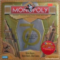 Juegos de mesa: MONOPOLY ESPECIAL 70 ANIVERSARIO USA. Lote 174493015
