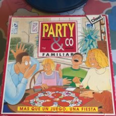 Juegos de mesa: JUEGO DE MESA PARTY & CO FAMILIAR MÁS QUE UN JUEGO. DISET 1996 COMPLETO. Lote 174528495