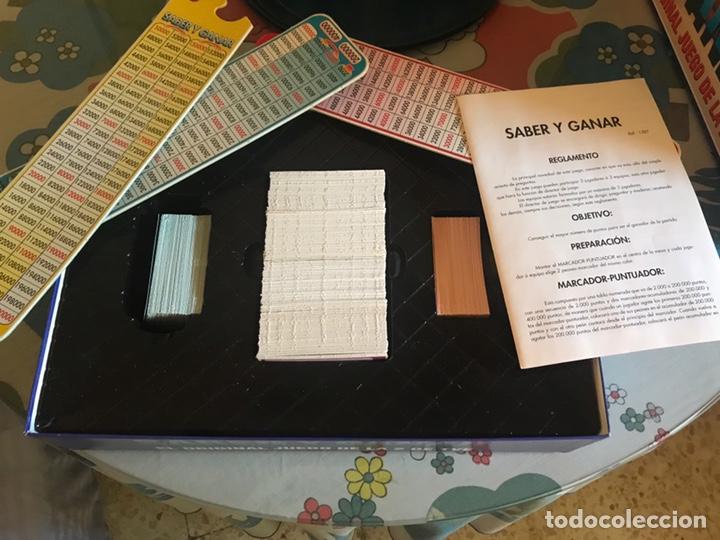 Juegos de mesa: Juego de mesa saber y ganar rtve 1997. Completo - Foto 2 - 174528577