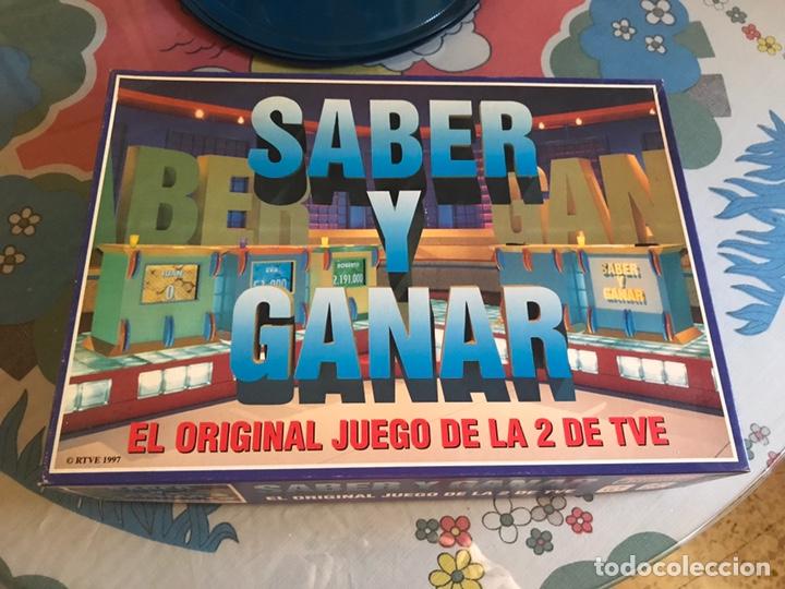 JUEGO DE MESA SABER Y GANAR RTVE 1997. COMPLETO (Juguetes - Juegos - Juegos de Mesa)