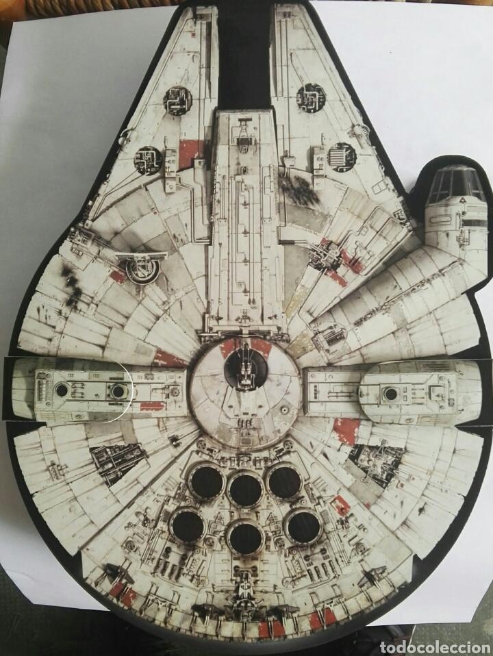 Juegos de mesa: Star Wars Halcón milenario album juego completo con 24 bustz - Foto 3 - 174709523